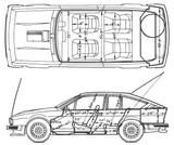 Imprimer le coloriage : Alfa Romeo, numéro 105427