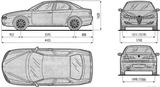 Imprimer le coloriage : Alfa Romeo, numéro 166890