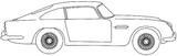 Imprimer le coloriage : Aston Martin, numéro 105464