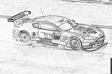 Imprimer le coloriage : Aston Martin, numéro 105466