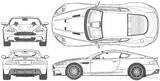 Imprimer le coloriage : Aston Martin, numéro 148451