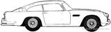 Imprimer le coloriage : Aston Martin, numéro 148452