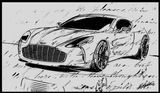 Imprimer le coloriage : Aston Martin, numéro 753640