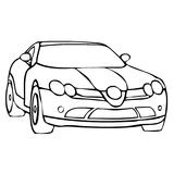 Imprimer le coloriage : Aston Martin, numéro 753642