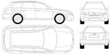 Imprimer le coloriage : Audi, numéro 105519