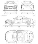 Imprimer le coloriage : Audi, numéro 105539