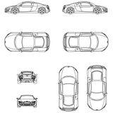 Imprimer le coloriage : Audi, numéro 105540
