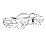 Imprimer le coloriage : Audi, numéro 138858