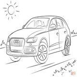 Imprimer le coloriage : Audi, numéro 49597a9d