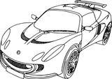 Imprimer le coloriage : Audi, numéro 92a4cd16
