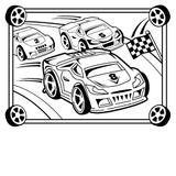 Imprimer le coloriage : Audi, numéro e9cc3dd2