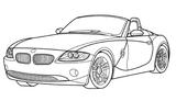 Imprimer le coloriage : BMW, numéro 105329
