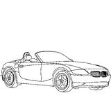 Imprimer le coloriage : BMW, numéro 16419