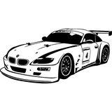 Imprimer le coloriage : BMW, numéro 426422