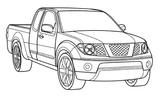 Imprimer le coloriage : BMW, numéro 535401