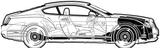 Imprimer le coloriage : Bentley, numéro 105581
