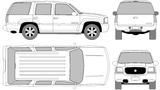 Imprimer le coloriage : Cadillac, numéro 105611