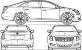 Imprimer le coloriage : Cadillac, numéro 105617