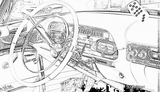 Imprimer le coloriage : Cadillac, numéro 105618