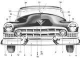 Imprimer le coloriage : Cadillac, numéro 125790