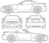 Imprimer le coloriage : Cadillac, numéro 200335