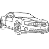 Imprimer le coloriage : Cadillac, numéro 542380