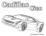 Imprimer le coloriage : Cadillac, numéro 621302