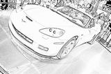 Imprimer le coloriage : Chevrolet, numéro 104602