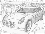 Imprimer le coloriage : Chevrolet, numéro 104613