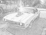 Imprimer le coloriage : Chevrolet numéro 104614