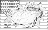 Imprimer le coloriage : Chevrolet, numéro 104622