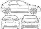 Imprimer le coloriage : Chevrolet, numéro 104625