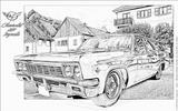 Imprimer le coloriage : Chevrolet, numéro 104627