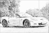 Imprimer le coloriage : Chevrolet, numéro 104630