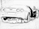 Imprimer le coloriage : Chevrolet, numéro 148285