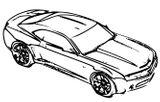 Imprimer le coloriage : Chevrolet, numéro 268462