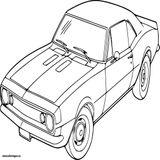 Imprimer le coloriage : Chevrolet, numéro b69abcef