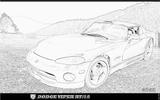 Imprimer le coloriage : Dodge, numéro 104696