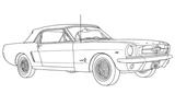 Imprimer le coloriage : Dodge, numéro 104723