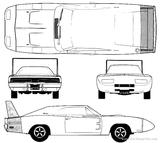 Imprimer le coloriage : Dodge, numéro 575791
