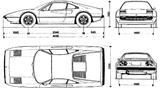 Imprimer le coloriage : Ferrari, numéro 105733