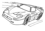 Imprimer le coloriage : Ferrari, numéro 105757