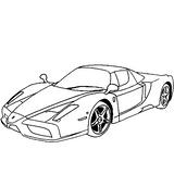Imprimer le coloriage : Ferrari, numéro 18106