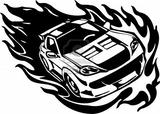 Imprimer le coloriage : Ferrari, numéro 30bf3bfc