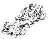 Imprimer le coloriage : Ferrari, numéro 448929