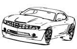 Imprimer le coloriage : Ferrari, numéro 501669