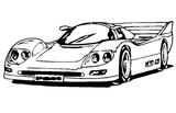 Imprimer le coloriage : Ferrari, numéro 544743