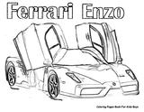 Imprimer le coloriage : Ferrari, numéro 60e35f13
