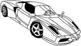 Imprimer le coloriage : Ferrari, numéro 678406