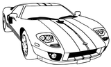 Imprimer le coloriage : Ferrari, numéro 753678